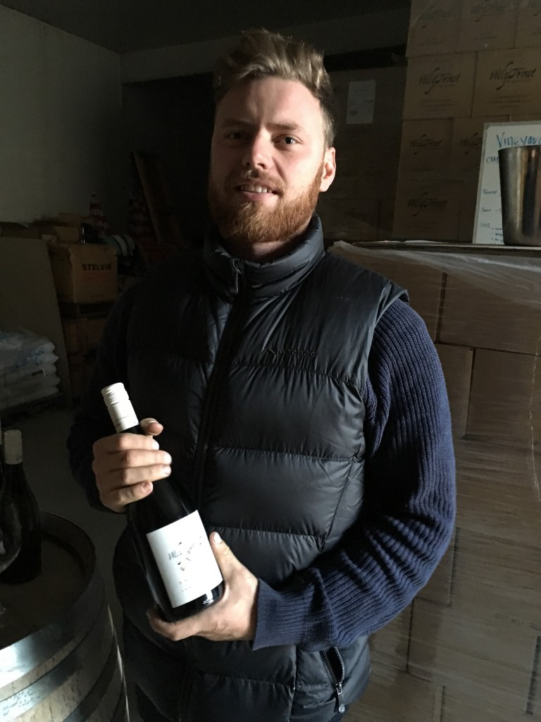 Will Bruce, winemaker at Wily Trout Wines, Canberra